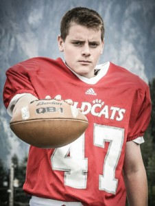 Tank, #47, Wildcat Football 2014