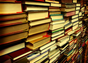 My To-Be-Read pile looks just like this. I promise to do better in 2015.