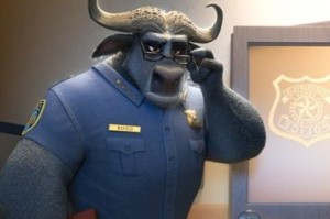 Idris Elba voices Chief Bogo in the film and was one of my favorite characters.